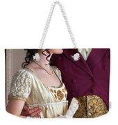 Attractive Regency Couple Weekender Tote Bag