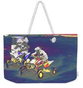 Atv Racing Weekender Tote Bag