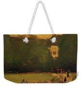 Au Jardin Du Luxembourg 1899 Weekender Tote Bag