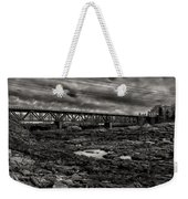 Auburn Lewiston Railway Bridge Weekender Tote Bag