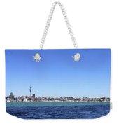 Auckland Harbour Weekender Tote Bag