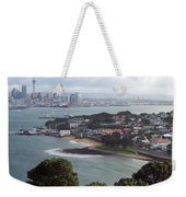 New Zealand - Picturesque Devonport Beach Weekender Tote Bag