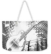 Audio Graphics 4 Weekender Tote Bag