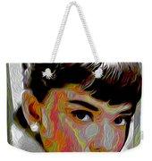 Audrey Hepburn Weekender Tote Bag
