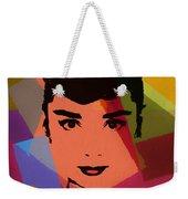 Audrey Hepburn Pop Art 1 Weekender Tote Bag
