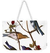 Audubon: Bluebirds Weekender Tote Bag