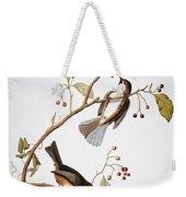 Audubon: Chickadee, (1827-1838) Weekender Tote Bag