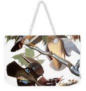 Audubon: Duck Weekender Tote Bag