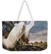 Audubon: Egret Weekender Tote Bag