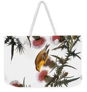 Audubon: Goldfinch Weekender Tote Bag