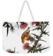Audubon: Goldfinch Weekender Tote Bag by Granger