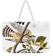 Audubon: Hawk Weekender Tote Bag