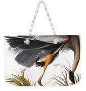 Audubon Heron Weekender Tote Bag