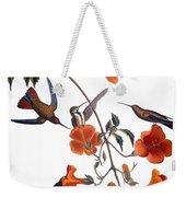 Audubon: Hummingbird Weekender Tote Bag by Granger