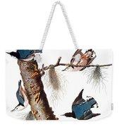 Audubon: Nuthatch Weekender Tote Bag