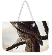 Audubon Owl Weekender Tote Bag
