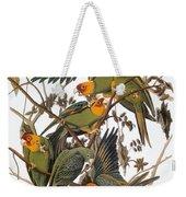 Audubon: Parakeet Weekender Tote Bag