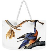 Audubon: Passenger Pigeon Weekender Tote Bag