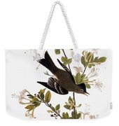 Audubon: Pewee, 1827-38 Weekender Tote Bag
