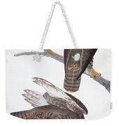 Audubon: Red-tailed Hawk Weekender Tote Bag
