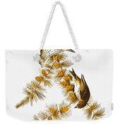 Audubon: Siskin Weekender Tote Bag