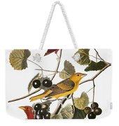 Audubon: Tanager Weekender Tote Bag