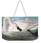 Audubon: Trumpeter Swan Weekender Tote Bag