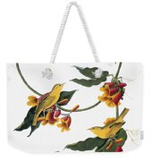 Audubon: Vireo, 1827-38 Weekender Tote Bag
