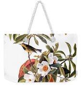 Audubon: Warbler, 1827-38 Weekender Tote Bag