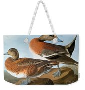 Audubon: Wigeon, 1827-38 Weekender Tote Bag
