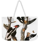 Audubon: Woodpecker Weekender Tote Bag