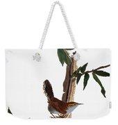 Audubon: Wren, (1827-38) Weekender Tote Bag by Granger