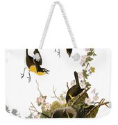 Audubon: Yellow Chat, (1827-38) Weekender Tote Bag