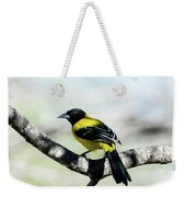 Audubon's Oriole Back Wings Weekender Tote Bag