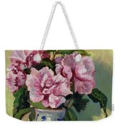 August Blossoms Weekender Tote Bag