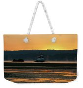 August Dawn At Esopus Light II Weekender Tote Bag