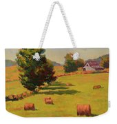 August Hay Field Weekender Tote Bag