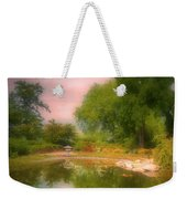 August In The Gardens Weekender Tote Bag