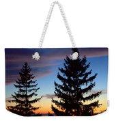 August Pine Clouds Weekender Tote Bag