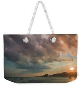 August Skies Over Ocean Isle Beach Weekender Tote Bag