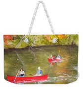 Augusta Canal Number One Weekender Tote Bag