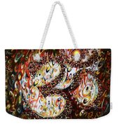 Aum - Cosmic Vibrations  Weekender Tote Bag
