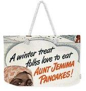 Aunt Jemima Ad, 1948 Weekender Tote Bag