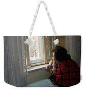 Aunt Leila - Watching Over The Neigbourhood Weekender Tote Bag