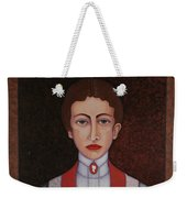 Aurelia De Sousa - The Narrative Of The Silent House Weekender Tote Bag