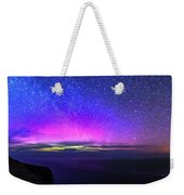 Aurora At Ceide Fields Weekender Tote Bag