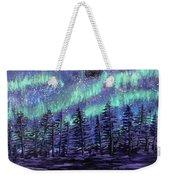 Aurora Borealis Weekender Tote Bag