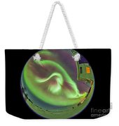 Aurora Borealis Over Churchill Weekender Tote Bag