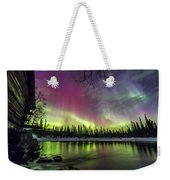 Auroras At The Mill Weekender Tote Bag