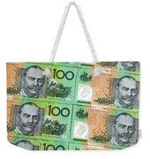 Aussie Dollars 09 Weekender Tote Bag